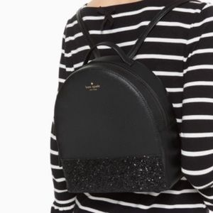 NWT. KATE SPADE Sparkly Backpack